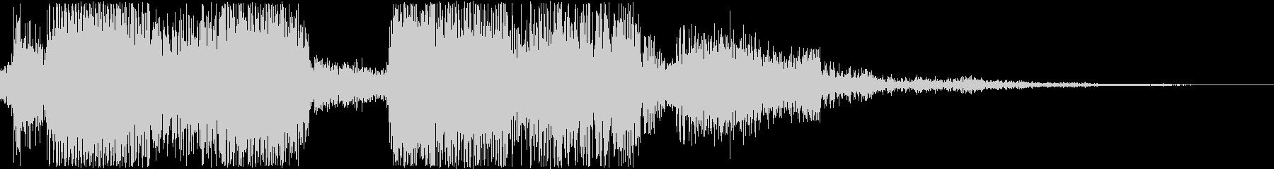 アンデッド/モンスターの叫び声_複数の未再生の波形