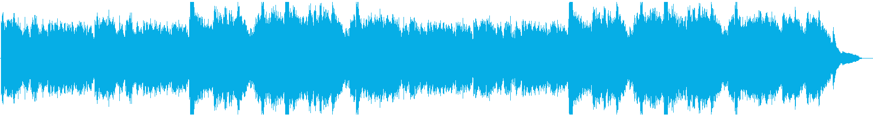 幻想的で温かみのあなピアノ・アンビエントの再生済みの波形