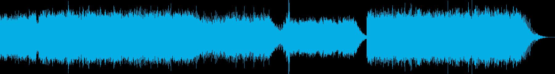 ベースなし エレクトロなアンビエントの再生済みの波形