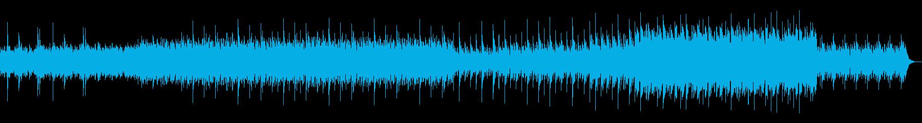 始まりを感じさせる優しいサウンドの再生済みの波形