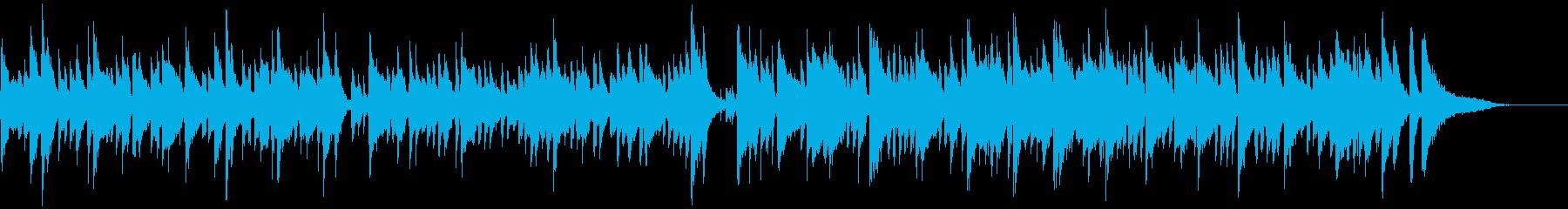 休日に聴きたいボサノバの再生済みの波形