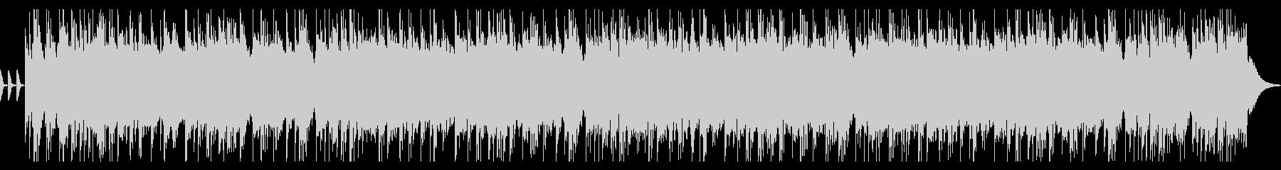 ギター のハードロックCM 動画 OPの未再生の波形