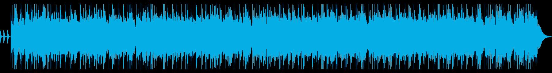 ギター のハードロックCM 動画 OPの再生済みの波形