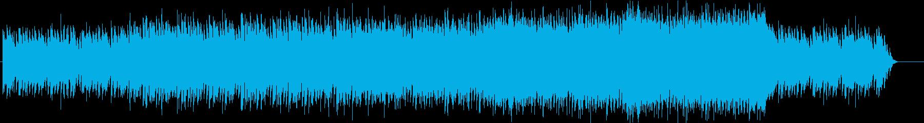 ケルト調ファンタジーオーケストラ・三拍子の再生済みの波形