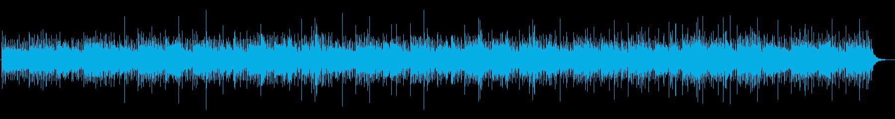 幻想的で和風なリラクゼーションサウンドの再生済みの波形