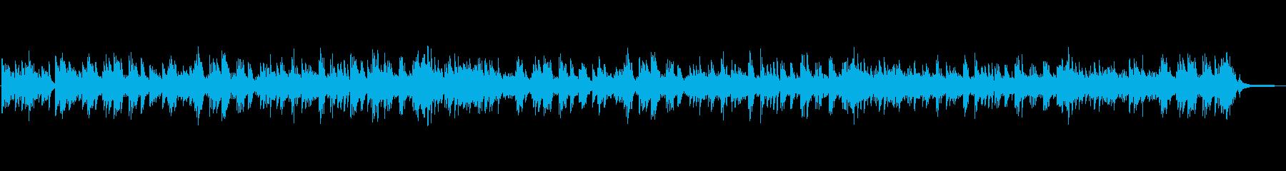 エレガントで端正なピアノとストリングスの再生済みの波形