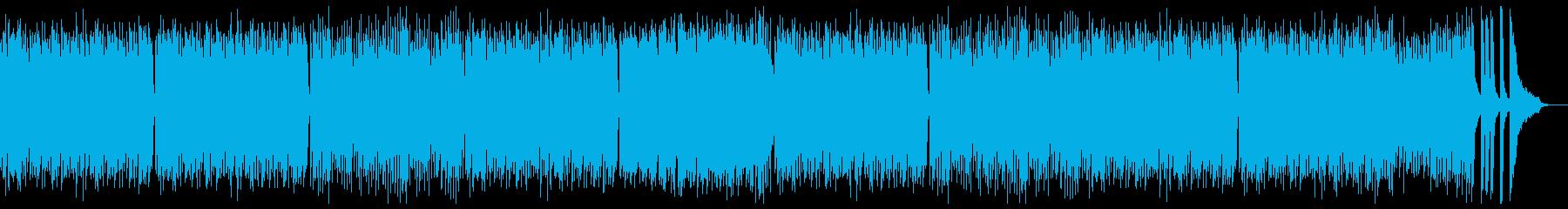 モーツアルト風の優しいピアノの再生済みの波形