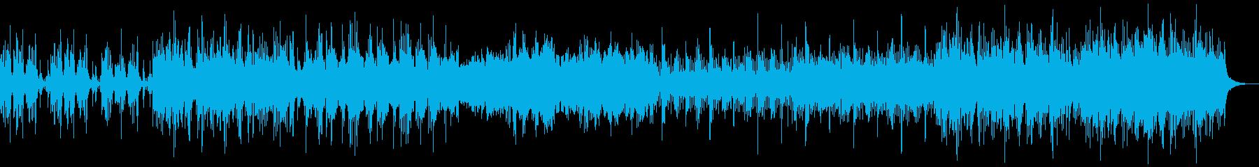 弾力のあるオーケストラ作品は、大き...の再生済みの波形
