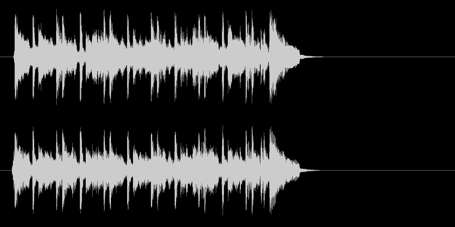 ちょっぴり切ないポップ(イントロ)の未再生の波形