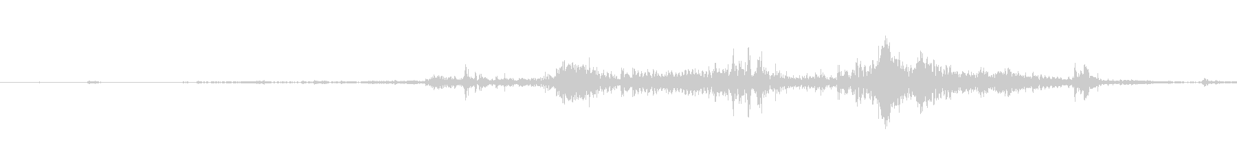 【生音】小銭・硬貨の音の未再生の波形
