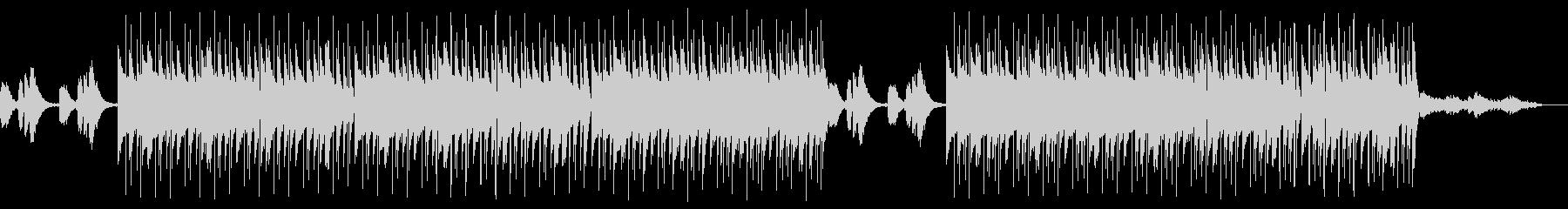 Lofi Hiphop 夕暮れのビーチの未再生の波形