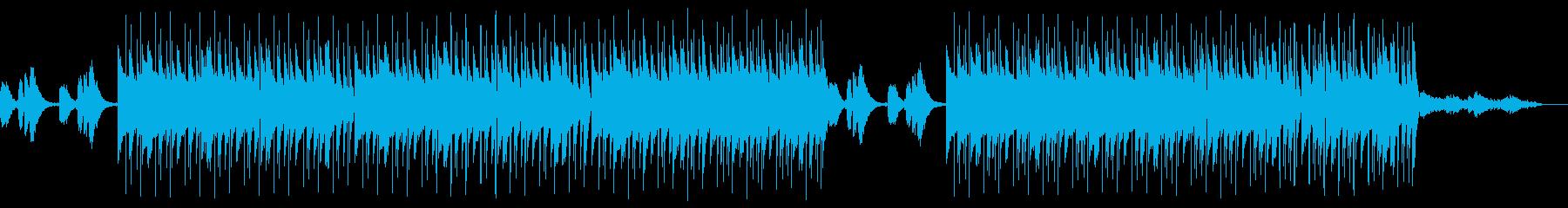 Lofi Hiphop 夕暮れのビーチの再生済みの波形