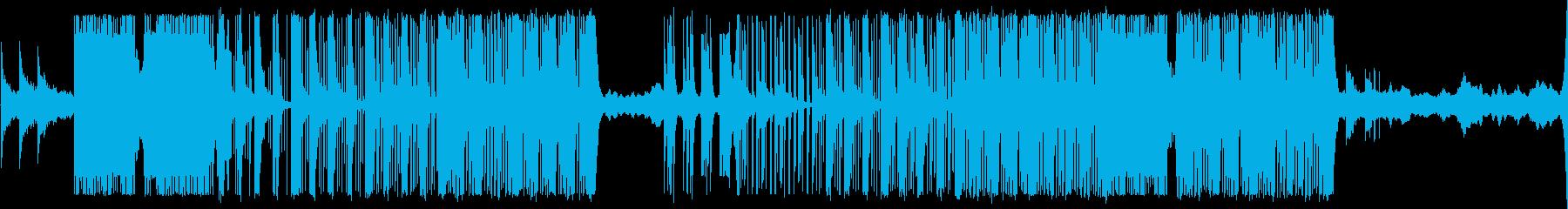 R&Bでドリームな曲の再生済みの波形