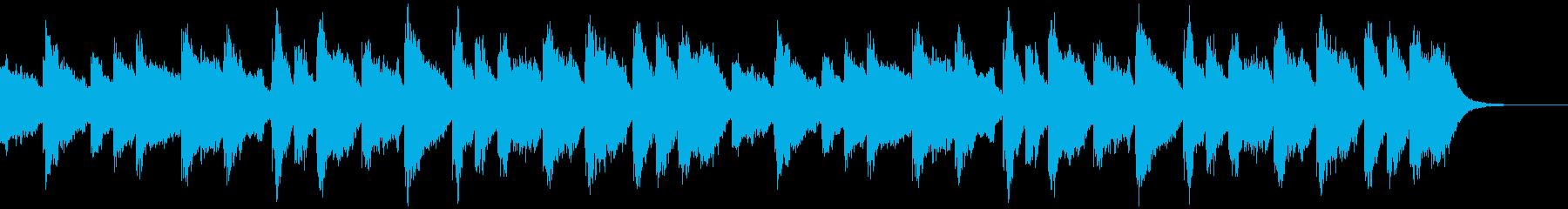 発表の瞬間の再生済みの波形