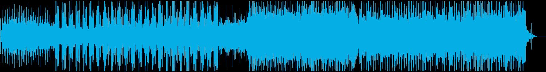 企業向生音系EDMで爽やか明るい疾走感の再生済みの波形