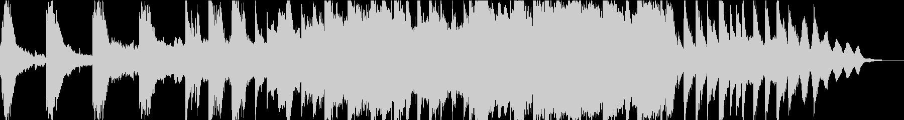 ピアノとストリングスと琴の小曲の未再生の波形