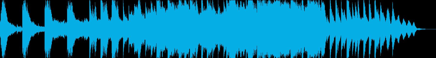 ピアノとストリングスと琴の小曲の再生済みの波形