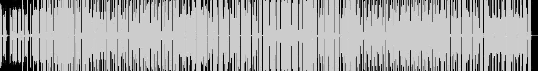ポップで楽しげに弾むBEATの未再生の波形