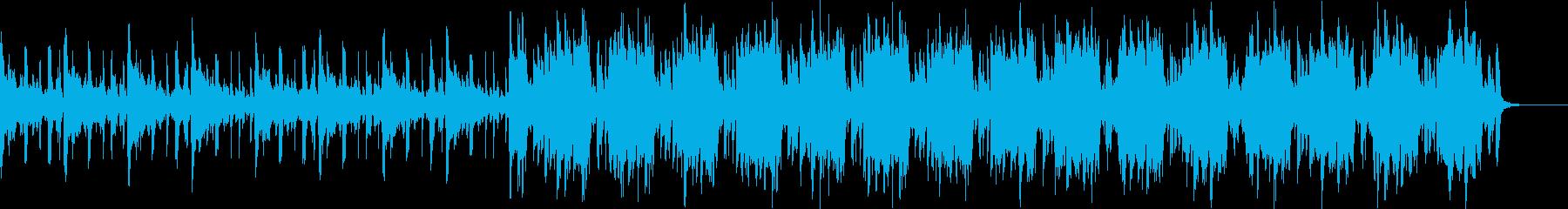 Pf「悪巧」和風現代ジャズの再生済みの波形