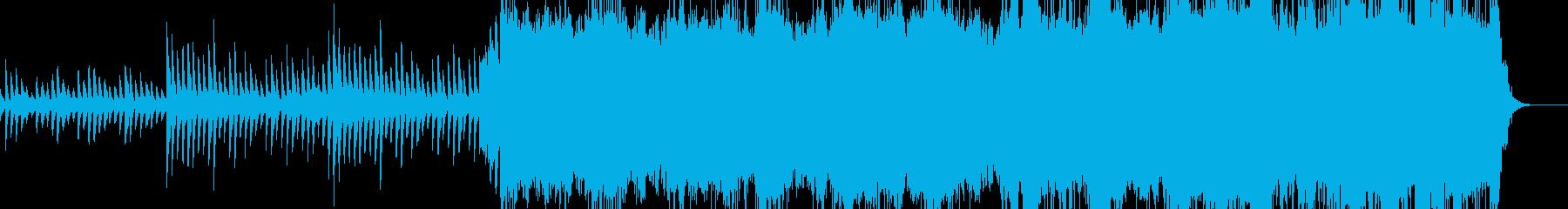和風の壮大なバラードの再生済みの波形