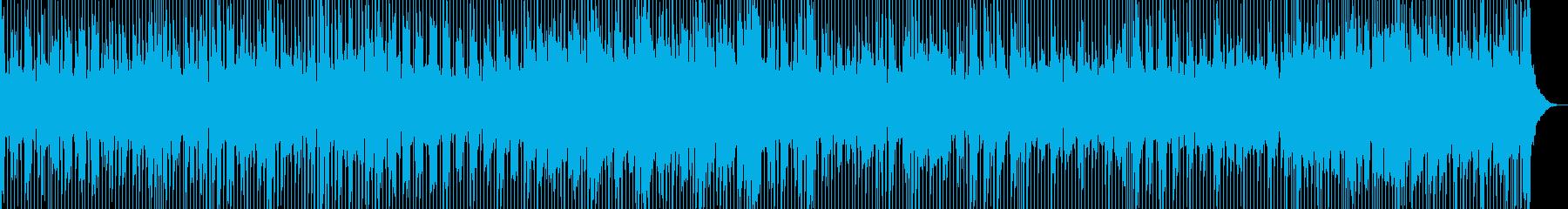 涙の別れをイメージしたブルースロックの再生済みの波形