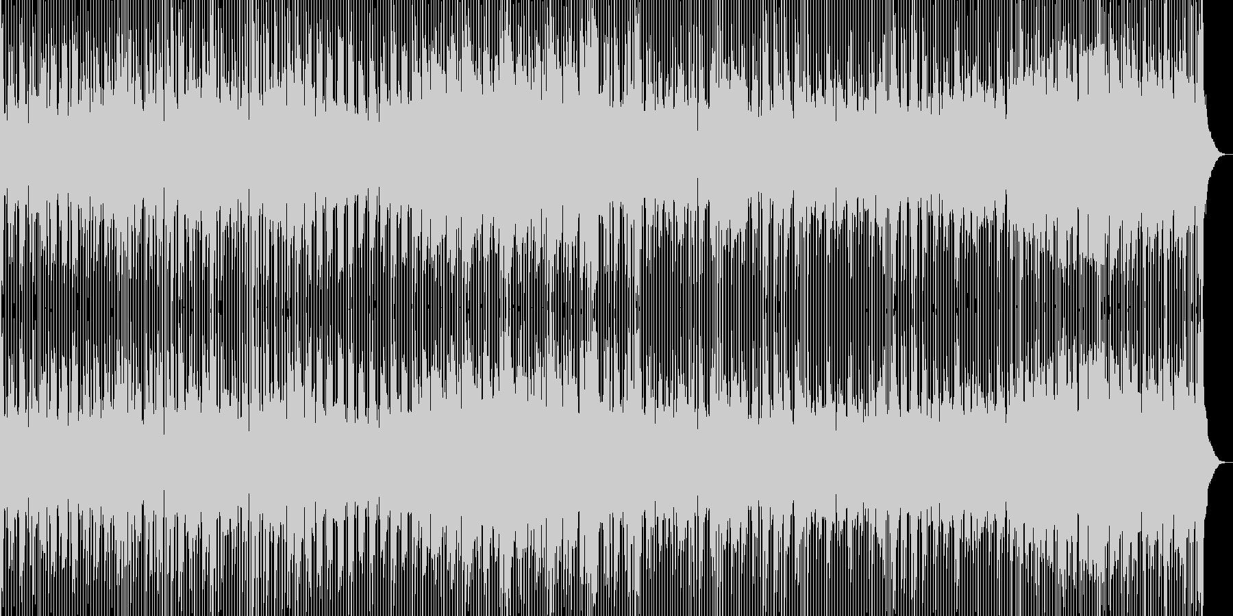 涙の別れをイメージしたブルースロックの未再生の波形