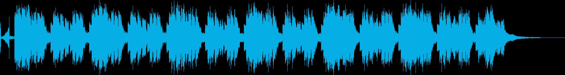 54秒 ビジネスシーン スマートなEDMの再生済みの波形