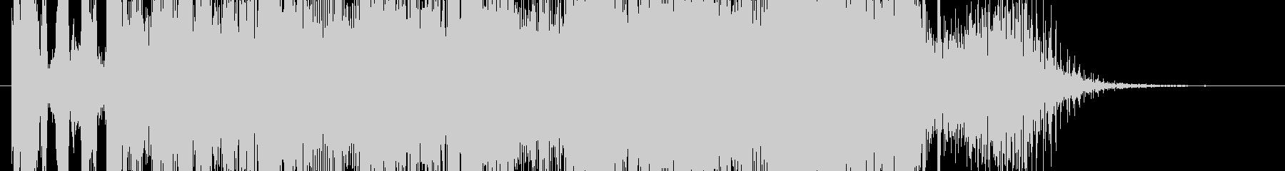 DJスクラッチとロボット_EDMジングルの未再生の波形