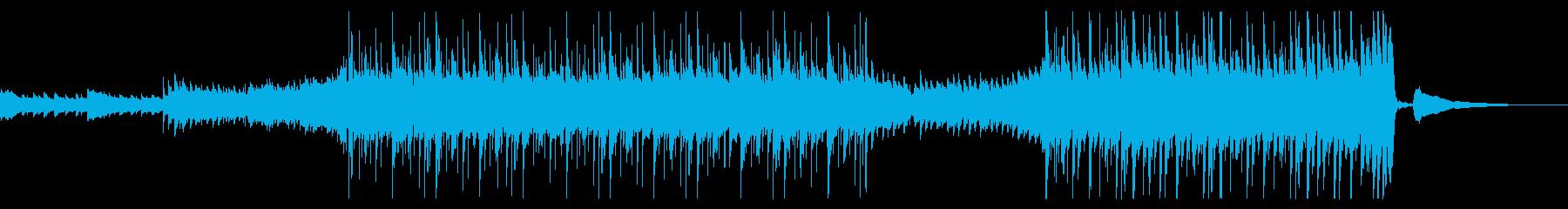 【生演奏】爽やかなアコースティッギター曲の再生済みの波形