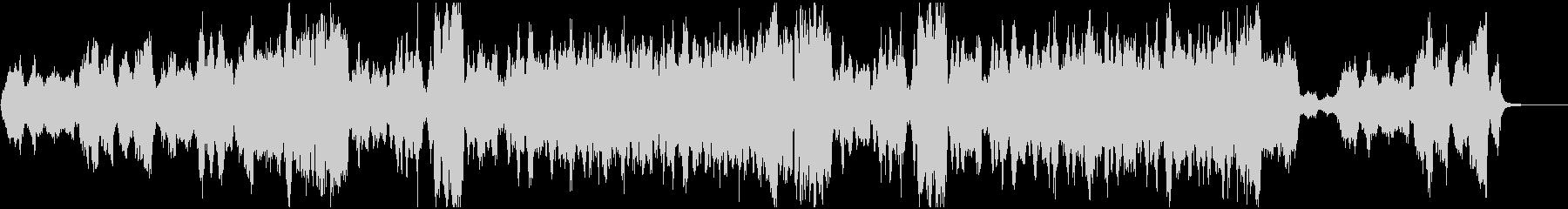 感動映像のための弦楽四重奏クラシックの未再生の波形