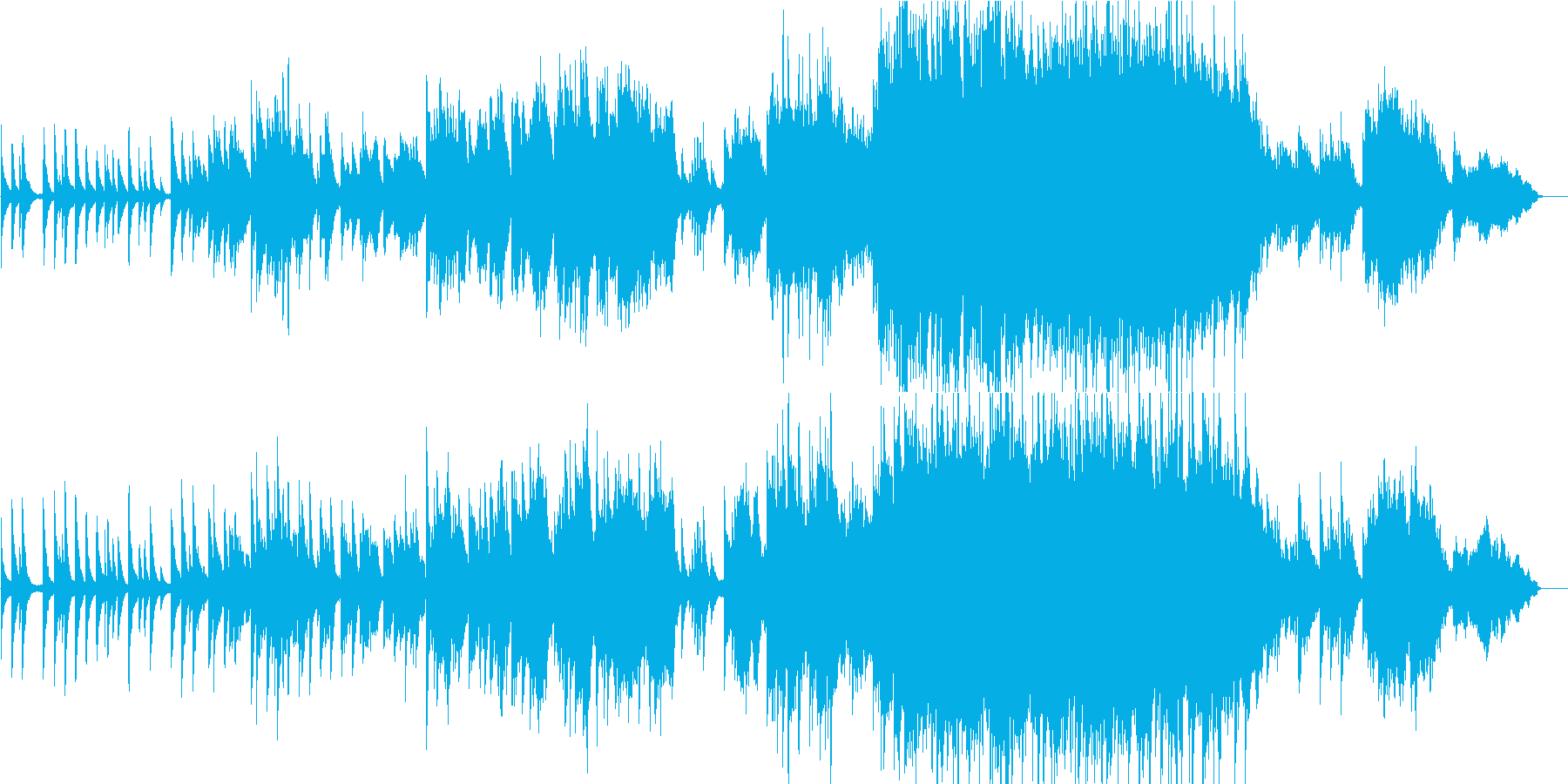 企業VP5 16bit44kHzVerの再生済みの波形