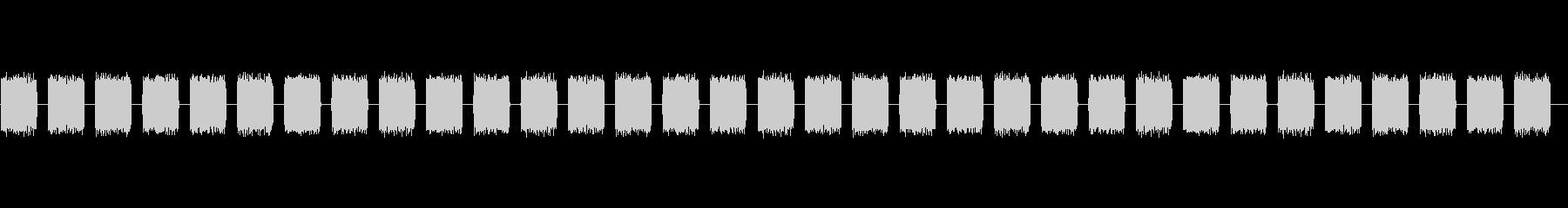 電子高速技術バズスペースアラームの未再生の波形