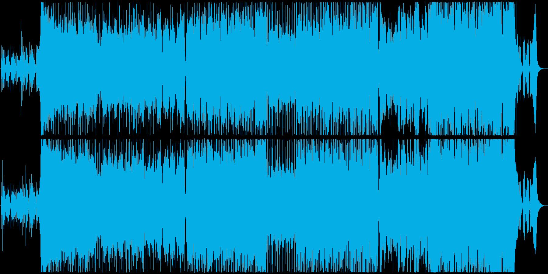 アニメOP/ED、6/8拍子短調、切ないの再生済みの波形