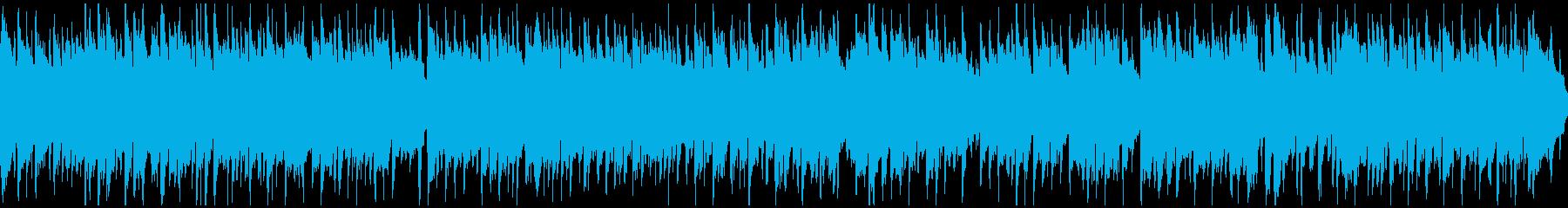 懐かしい田舎の夕焼けリコーダー※ループ版の再生済みの波形