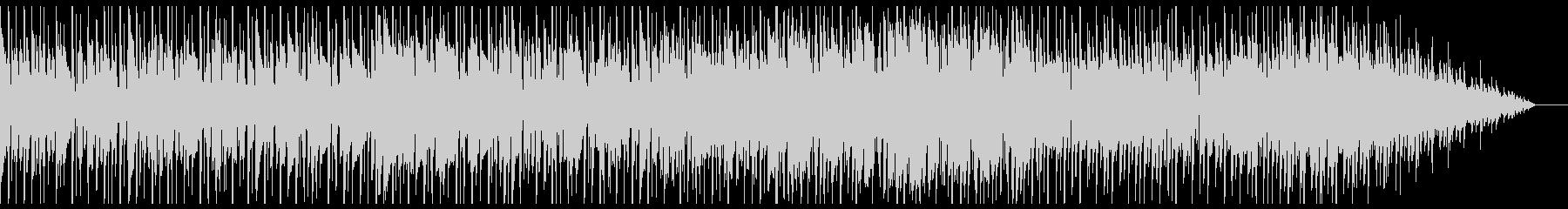 シンプルなバンドロックサウンドの未再生の波形