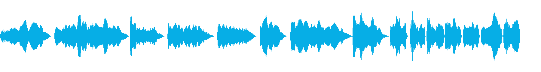車両は未来的な音の再生済みの波形