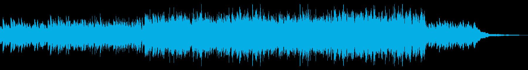 幻想的な響きのリラックスサウンドの再生済みの波形