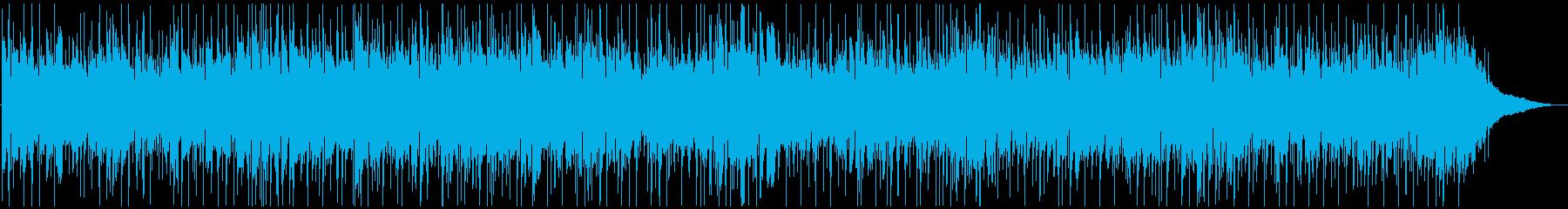 ポップな感じのケルティックリールの再生済みの波形