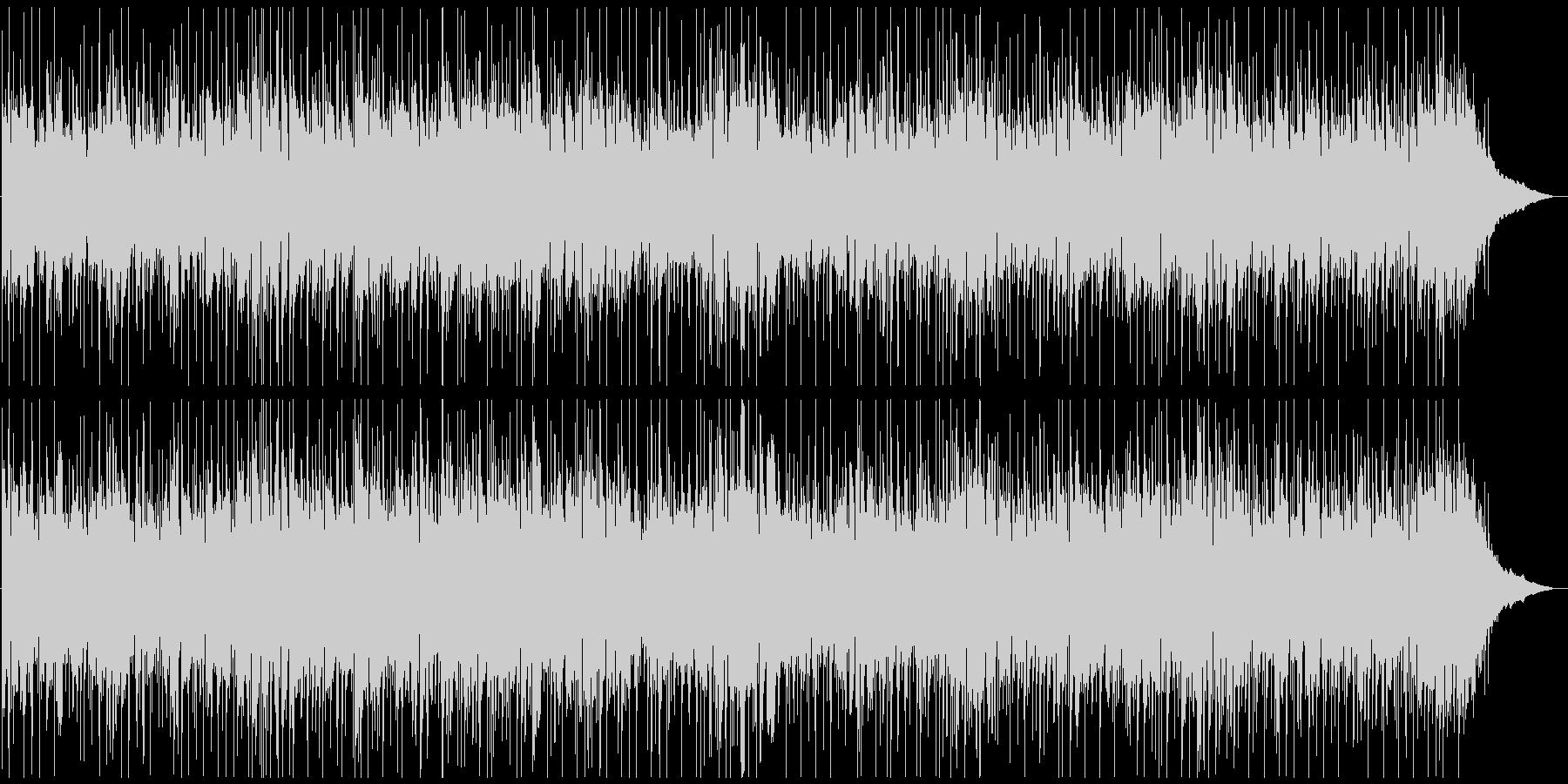 ポップな感じのケルティックリールの未再生の波形