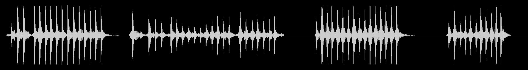 ガスペダルポンプ各種の未再生の波形