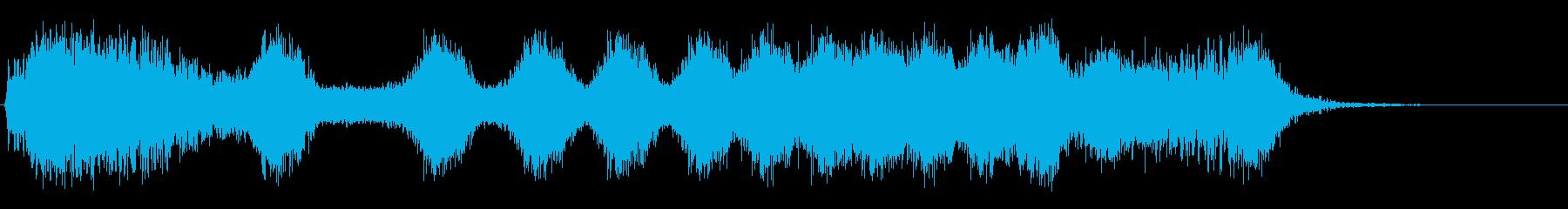 エネルギースワイプの再生済みの波形