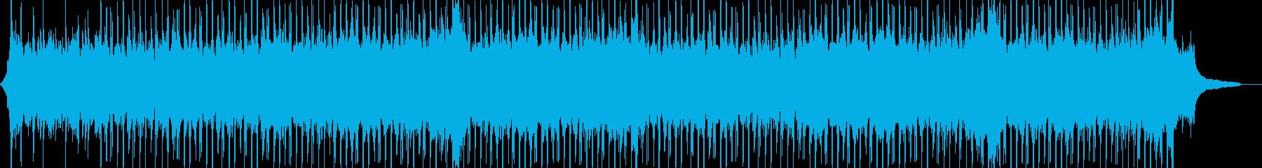 企業VP系48、爽やかピアノ4つ打ちaの再生済みの波形