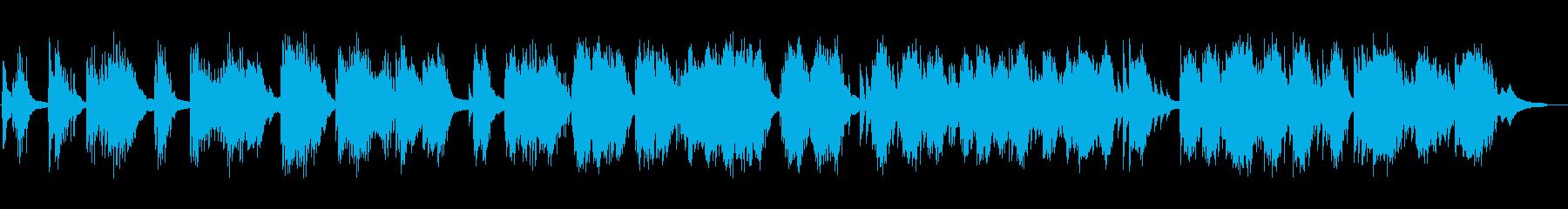 ほのぼのした物語的なピアノソロの再生済みの波形