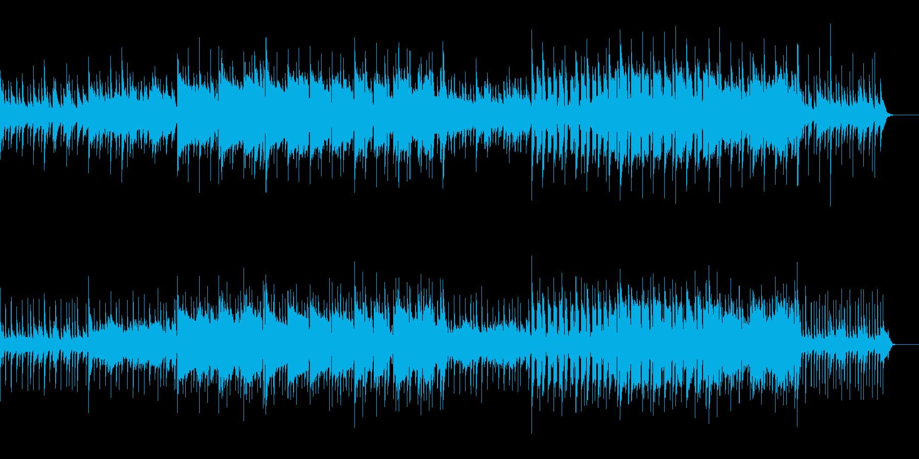 和風のリフが印象的な切ないBGMの再生済みの波形