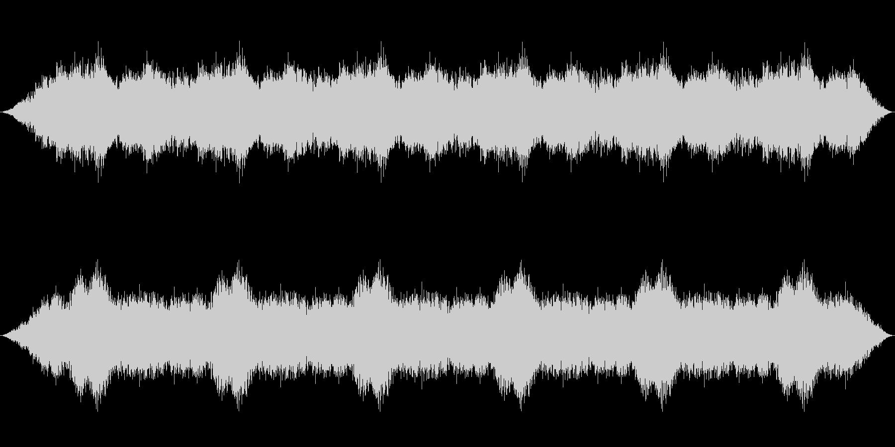 腐海の森の環境音楽の未再生の波形