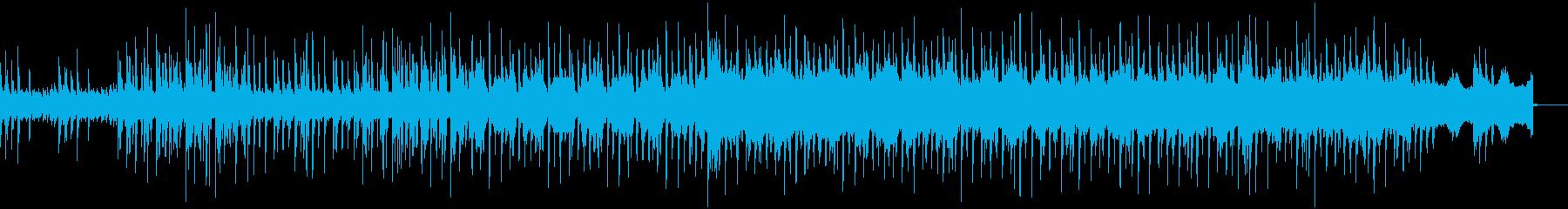 スローでクールなヒップホップ  BGMの再生済みの波形