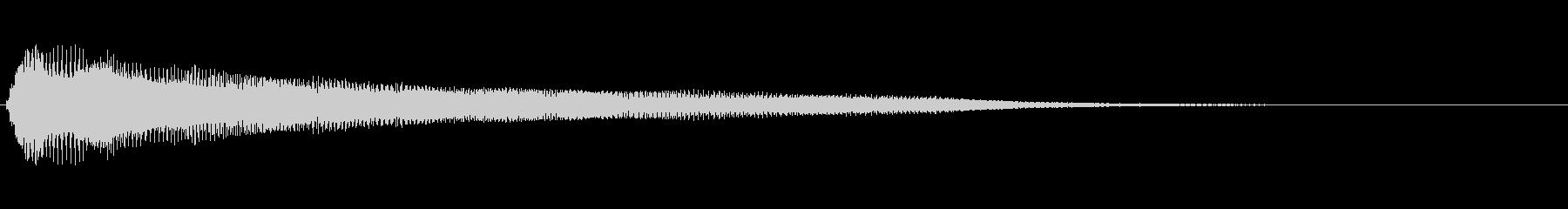 残念・失敗・呆れ・コミカル Low-7の未再生の波形