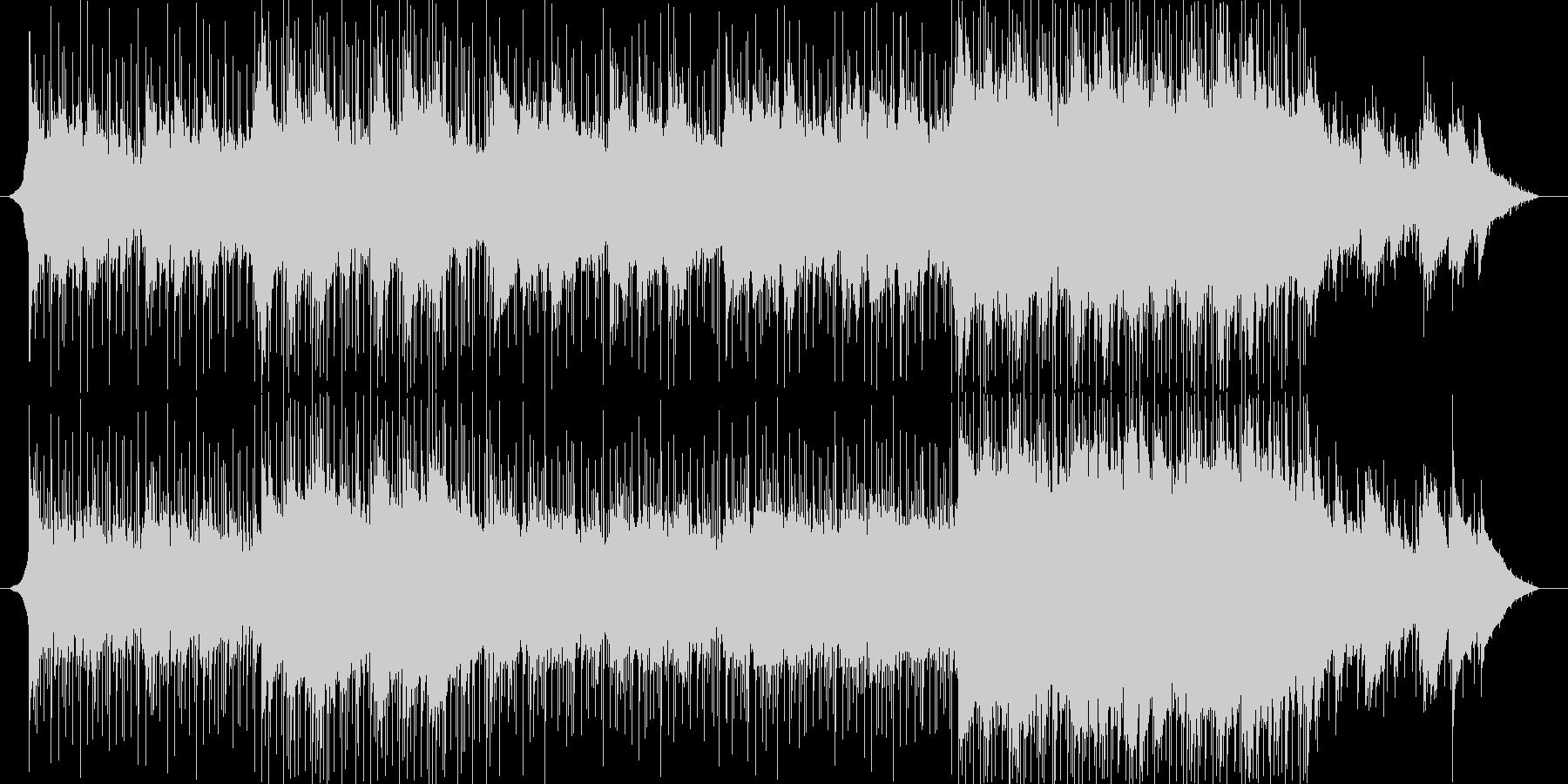 ピアノ、アコースティックギター、エ...の未再生の波形