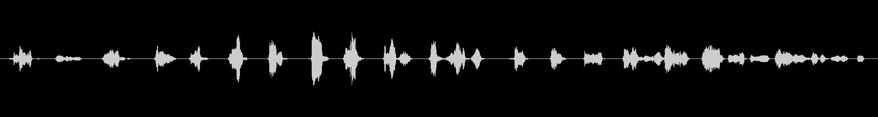 プラスチックトイホイール:クイック...の未再生の波形
