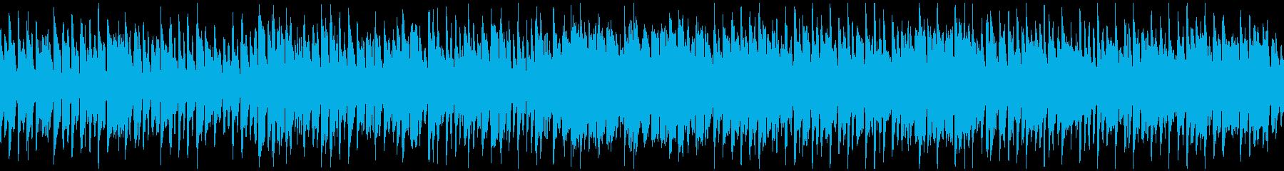 陽気な子供達のようなリコーダー※ループ版の再生済みの波形